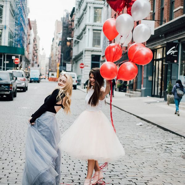 Mimosas & Manhattan | Two Girls & A Lot of Balloons