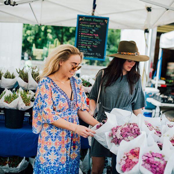 Mimosas and Manhattan | Union Square Farmer's Market