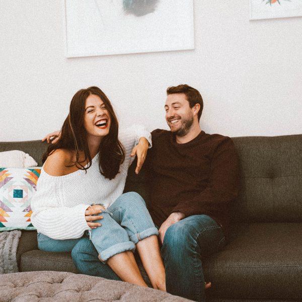 Mimosas and Manhattan | Manhattan Living Room