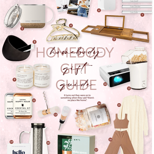 Gift Guide 2020: For The Homebody