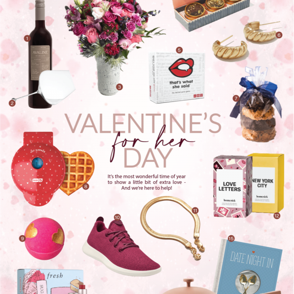 Valentine's Day Gift Guide – For Her